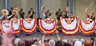 Koncert zespołu Vallarta Azteca z Meksyku - Muzeum Etnograficzne w Toruniu - 23 sierpień 2011 r.