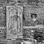 Toruń w czerni i bieli – Ruiny Zamku Krzyżackiego
