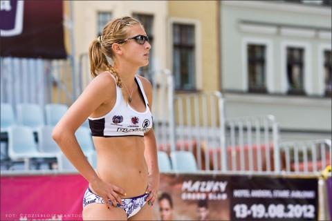 Plaża Gotyku - Grand Prix w Siatkówce Plażowej Kobiet - Toruń - 16 czerwiec 2012 r.