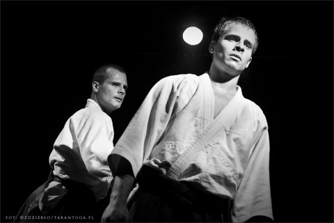 Festiwal Bez Granic w Różanymstoku – pokaz Kyudo i Ken Jutsu - grupy Budojo i Soto – 24 maj 2012 r.