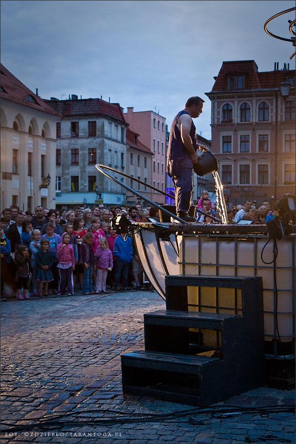 teatr uliczny Bängditos uberfluss