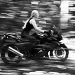 Sesja z motorem – Marta