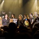 8 Kobiet dla Ciechowskiego – Ostrowska, 2x Wrońska, Furtak, Jakubowicz, 2x Przybysz – klub OdNowa – 15 grudzień 2012 r.