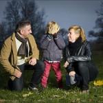 Dagmara i Tomek – wieczorna sesja rodzinna