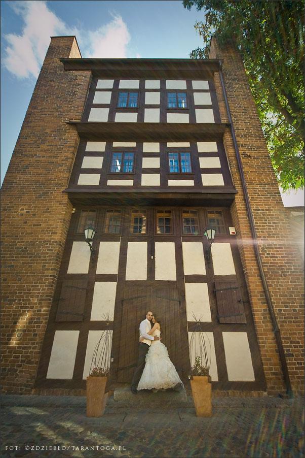 sesja ślubna sylwia dawid krzywa wieża