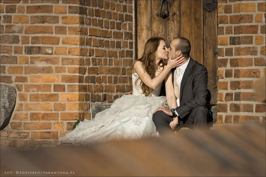sesja ślubna sylwia dawid pocałunek