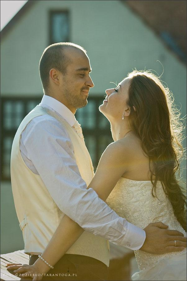 sesja ślubna sylwia dawid podmurna słońce
