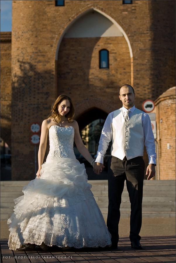 sesja ślubna sylwia dawid brama