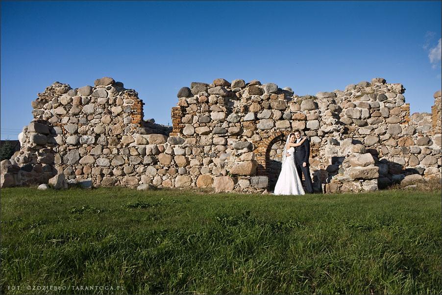 sesja ślubna joanna maciej ruiny