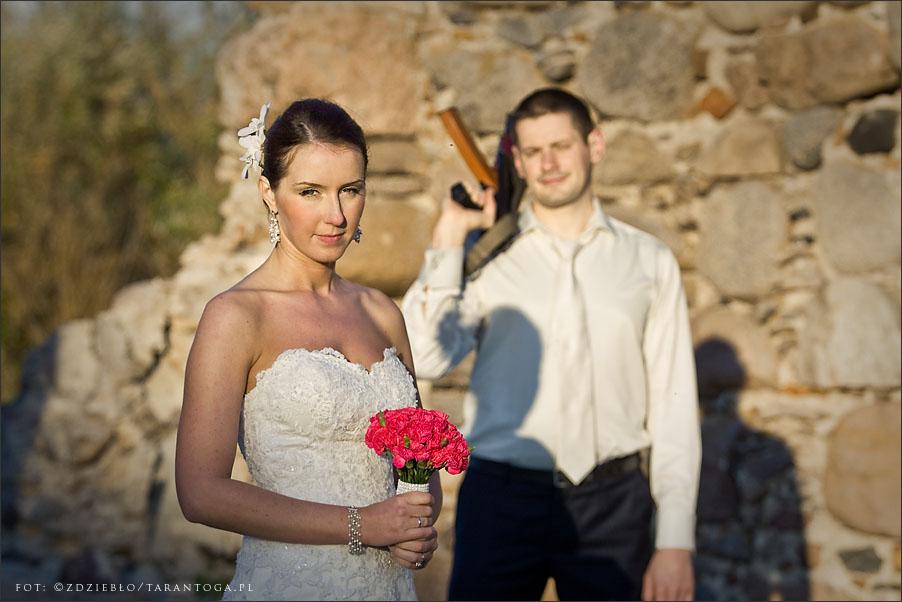 sesja ślubna joanna maciej karabin