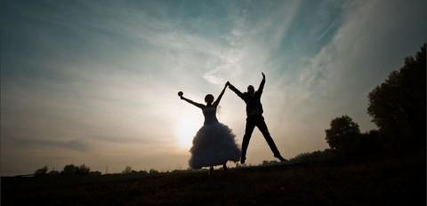 Ślubna sesja plenerowa | Dominika i Paweł na Zamku Dybowskim