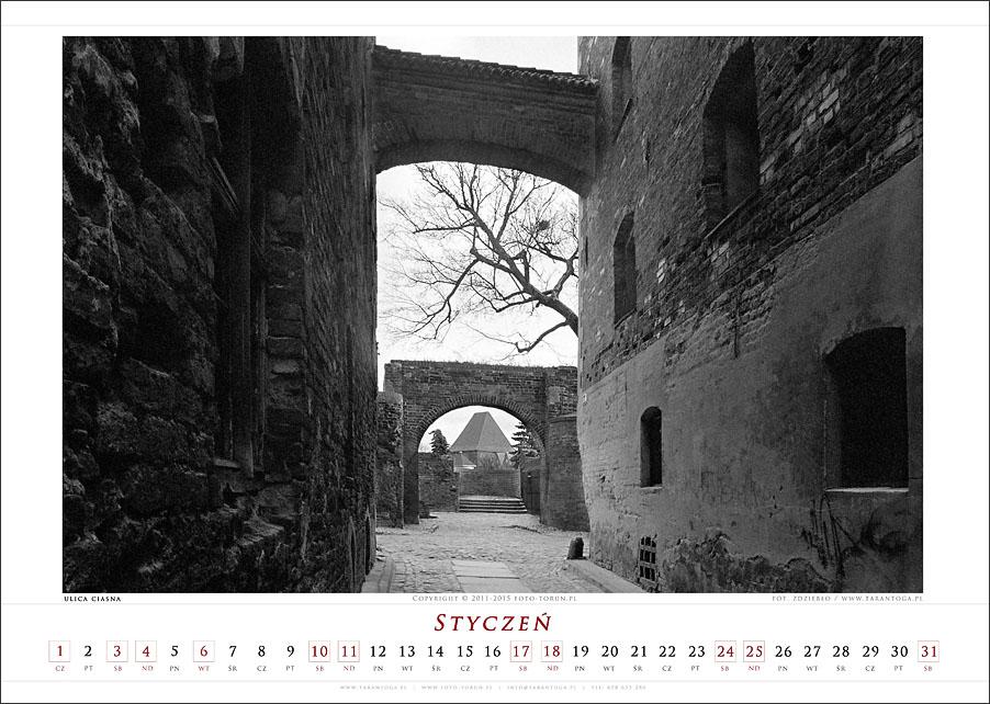 kalendarz 2015 fotograf torun tarantoga