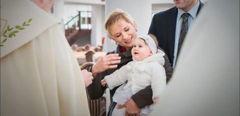 Reportaż z chrztu św. | Aurelka
