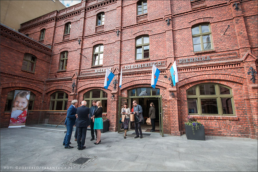 otwarcie muzeum torunskiego piernika