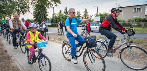 Otwarcie ścieżki rowerowej Toruń - Chełmża - Zalesie / Festyn w Zalesiu - 21 czerwiec 2015 r.