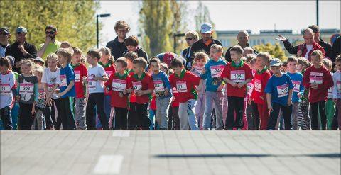 Run Toruń 2016 - dzieciaki biegają - 30 kwiecień 2016 r.