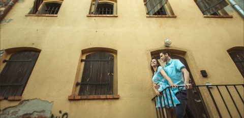 Sesja narzeczeńska | Ania i Bartek | Stare Miasto w Toruniu